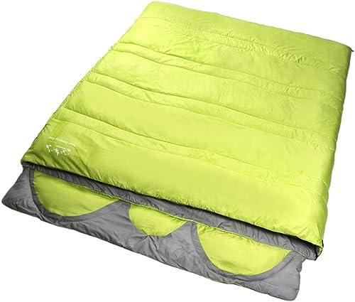CATRP-Sac de couchage pour 3 Personnes Design monopièce Adulte Quatre Saisons Grand épaissir Garder au Chaud