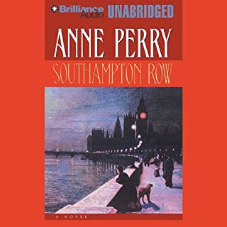 Southampton Row audiobook cover art