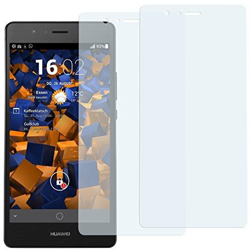 mumbi Schutzfolie kompatibel mit Huawei P9 Lite Folie klar, Displayschutzfolie (2x)