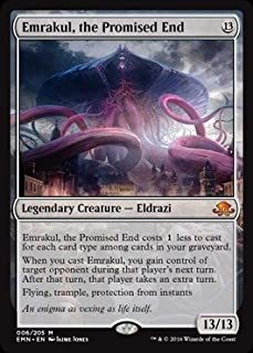 Magic: the Gathering - Emrakul, the Promised End (006/205) - Eldritch Moon - Foil