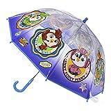 CERD LIFE'S LITTLE MOMENTS - Paraguas Transparente de Top Wing -Licencia Oficial Nickelodeon, Multicolor