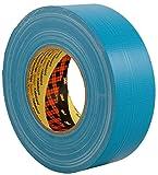 3M 7000111477 Cinta Americana de Altas Prestaciones, 50 mm X 50 m, 1unidad, Azul