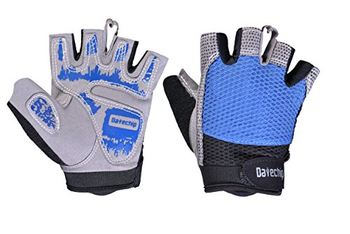 Guantes Ciclismo Moto Guantes sin Dedos - Datechip Guantes d