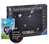 Ravensburger 152605-Krypt - Puzzle para adultos (incluye pegatina de Sometimes You Win), color negro