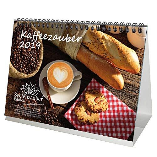 Kaffeezauber · DIN A5 · Premium Tischkalender/Kalender 2019 · Bohne · Café · Latte Macchiato · Espresso · Kaffee · Edition Seelenzauber