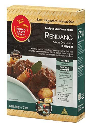 Prima Taste Rendang Sauce, Ready-to-Cook Saucen-Kit für Currys, 360 g (für 7-8 Personen)