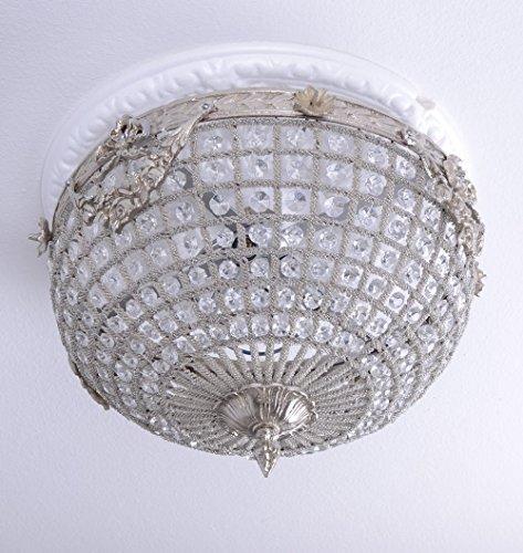 Deckenleuchte Rokoko Lampe Deckenlüster Barock Leuchte Lüster M Palazzo Exclusiv