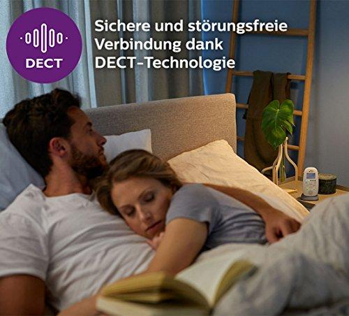 Philips Avent Audio-Babyphone SCD733/26, DECT-Technologie, Eco-Mode, Sternenhimmel, 18 Std. Laufzeit - 2