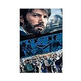 Filmposter Argo 13, Leinwand-Poster, Wandkunst, Dekor,