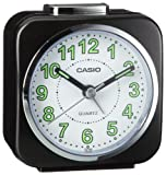 Casio Collection Reloj Despertador, Negro
