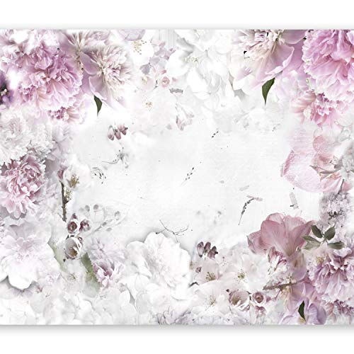 murando Fototapete Blumen 400x280 cm Vlies Tapeten Wandtapete XXL Moderne Wanddeko Design Wand Dekoration Wohnzimmer Schlafzimmer Büro Flur Blumenmotiv b-A-0152-a-d