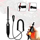 Mrcartool Auto Car Truck Wire Piercing Cord Voltage Circuit Tester DC 6V/12V/24V Hook Probe Test Light Pencil with Light Indicator 1pc