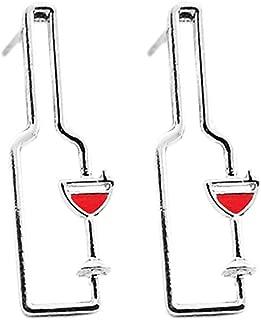 Best wine glass shaped earrings Reviews