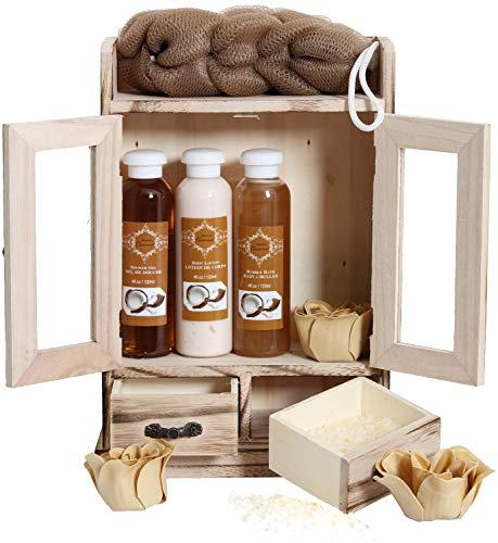 BRUBAKER Cosmetics - Coffret de bain - Noix de coco - 10...