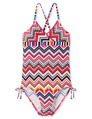 Schiesser Mädchen Aqua Badeanzug, Mehrfarbig (Multicolor 1 904), (Herstellergröße: 152)