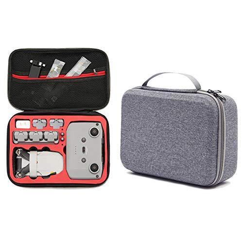 DJFEI Mavic Mini 2 Custodia, Mavic Mini 2 Borsa a Tracolla Portatile Borsa di Grande capacità Custodia per Trasporto e Protezione Accessori Drone per DJI Mavic Mini 2 (Rosso)
