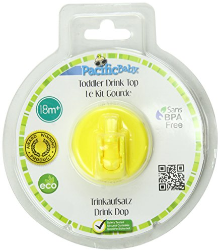 Review Pacific Baby Toddler Drink Top, Yellow