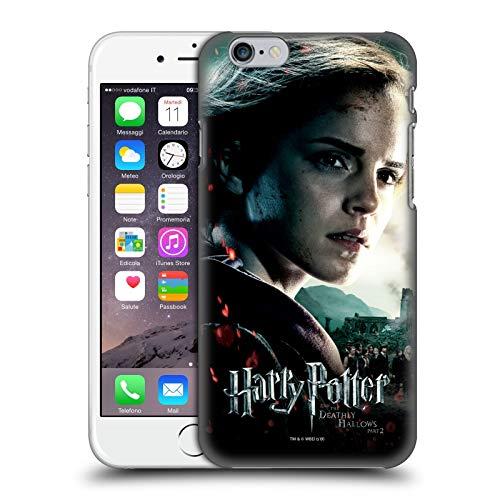 Head Case Designs sous Licence Officielle Harry Potter Hermione Granger Deathly Hallows VIII Coque Dure pour l'arrière Compatible avec Apple iPhone 6 / iPhone 6s