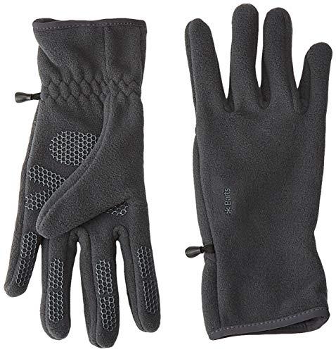 Barts Unisex Fleece Glove Handschuhe, Grau (ANTHRACITE 0019), Large