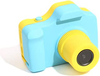 Andoer Kids Camera Digital Video HD Sports Action Camera Mini Outdoor Learning Camcorder DV with 1.77 Inch LCD Screen for Boy Girl Kids Birthday Holiday Toy Gift Blue