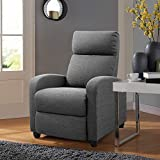 Best Ergonomic Recliners - Tuoze Recliner Chair Ergonomic Adjustable Single Fabric Sofa Review