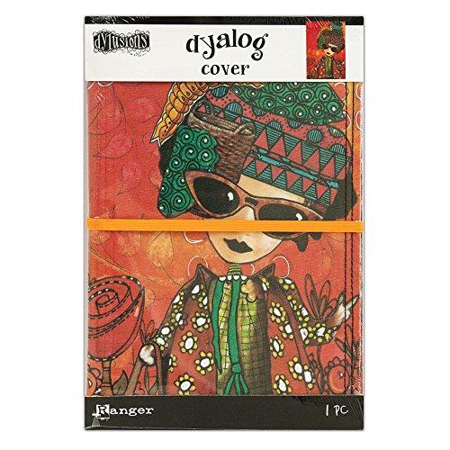 Ranger Dylusions Dream Cover Toile imprimée, matière synthétique, multicolore, 22,2 x 15 x 1 cm
