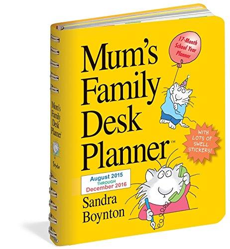 Mum's Family Desk Planner (2016 Calendar)