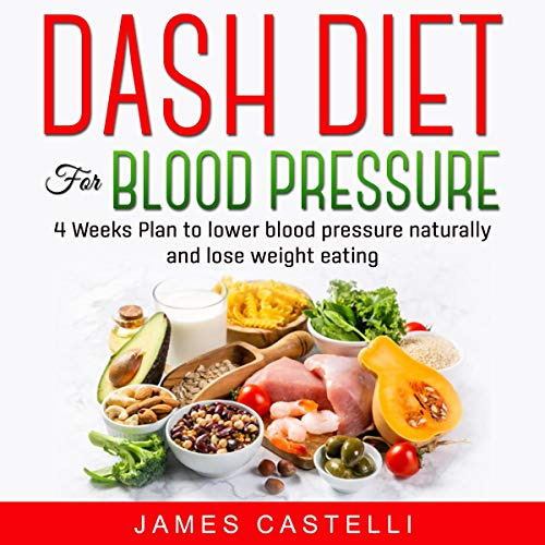 Dash Diet for Blood Pressure  By  cover art