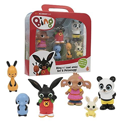 Giochi Preziosi- Bing Set Mini Personaggi, Multicolore, BNG07000