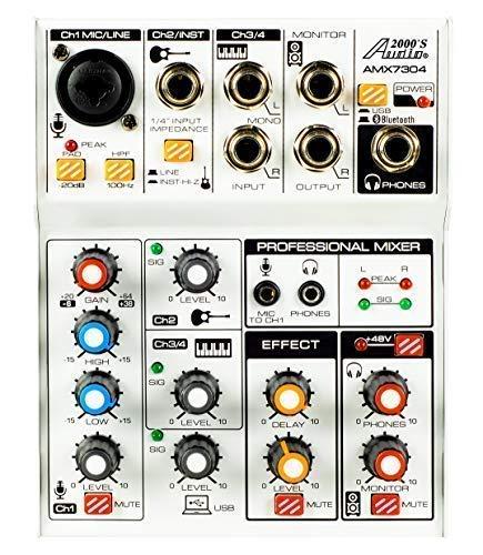 Audio2000S AMX7304 USB Powered Four Channel Audio