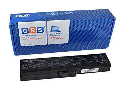 GRS Batería para Toshiba Satellite L750, Satellite L750D, sustituye a: PA3816U-1BRS, PA3817U-1BRS, PA3818U-1BRS, PA3819U-1BRS, PABAS227, PABAS228, PABAS229, PABAS230 4400mAh, 10.8V