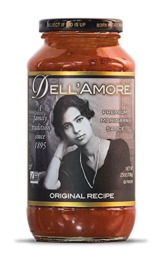 Dell'Amore Premium Marinara Sauce - Original Recipe (25oz / 6 pk) *Buy Direct from DELL'AMORE Enterprises*