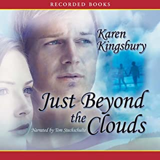 Just Beyond the Clouds audiobook cover art