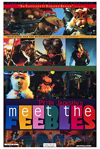 Meet The Feebles Movie Poster (68,58 x 101,60 cm)