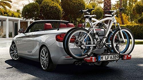 Original BMW Fahrradhalterung PRO 2.0 für die AHK auch für E-Bike - 2 Räder