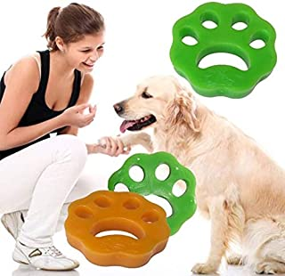HUICHEN Pet Hair Remover For Laundry,Dogs And Cats Hair Catcher For Washing Machine,Non-Toxic Safety Reusable Floating Pet...