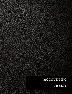 Accounting Sheets: Two Columnar Format
