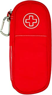 AllerMates Children's Newly Redesigned Medical Allergy Kids Carrying Case for EpiPen or Auvi-Q, and Benadryl (Poppy)