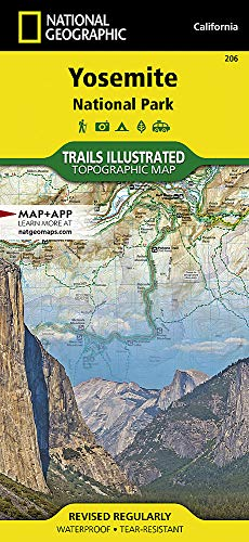 Yosemite National Park (National Geographic Trails Illustrated Map (206))
