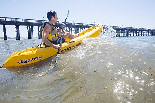 Ocean Kayak Frenzy 1-Person Sit-On-Top Recreational Kayak (Envy, 9...