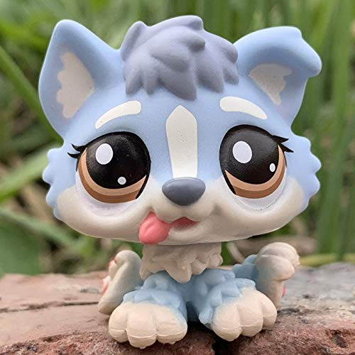 GXYMF LPS Cat Old Pet Shop Puppy Juguetes Lindos Mini Husky Dog Baby # 1013 1683