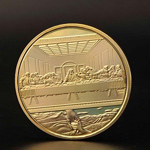 Vybio (TM) 24k Goldmünze / Euro Münze Das letzte Abendmahl