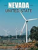 Nevada Calendar 2021-2022: Monthly Calendar & Planner 2021-2022