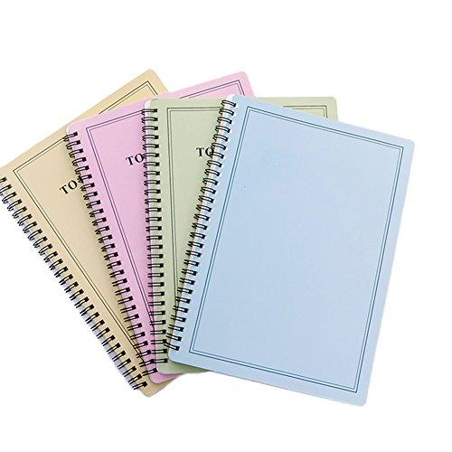 1x da.WA notebook A5a righe bobina per ufficio Holiday Gift souvenir Notepad Student cancelleria diario Portable Word Book colore casuale