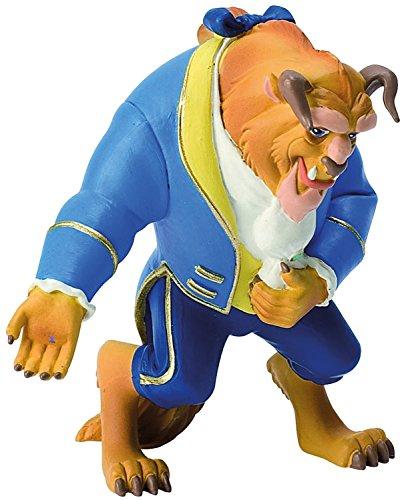 Bullyland 12463 - Spielfigur, Walt Disney Die Schöne und das Biest, Biest, ca. 10 cm groß, liebevoll handbemalte Figur, PVC-frei, tolles Geschenk für Jungen und Mädchen zum fantasievollen Spielen