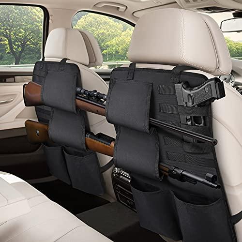 EZshoot 2PCS Car Seat Back Gun Rack Organizer, Automotive...