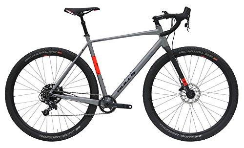 Bulls Herren Rennrad 29 Zoll Trail Grinder (2018) - grau matt, Carbon Gabel, Aluminium Rahmen