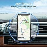 Blukar Support Téléphone Voiture, Support à Grille d aération Support Ventilation Rotation 360° avec 2 Clips pour Smartphones et GPS 4.7-6.5 Pouces