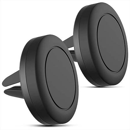 Vava Magnetische Handyhalterung Für Lüftungsschlitze Kompatibel Mit Iphone Xs Max Xr X 8 Plus 7 Plus 6s Plus Se S9 Plus S8 Plus Edge S7 S6 Note 8 Und Mehr 2 Stück Elektronik