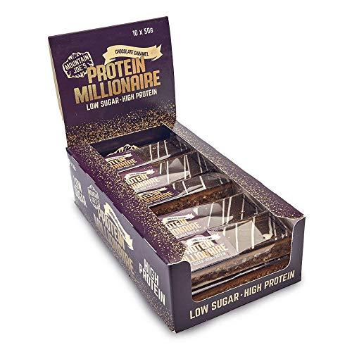 Mountain Joe's Protein Millionaire 10 Bars Chocolate Caramel